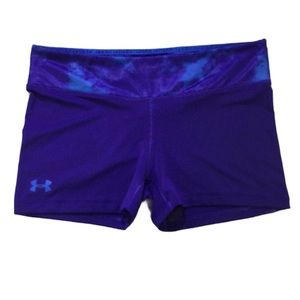 Under Armour Large Tie-Dye Active Fitted Shorts